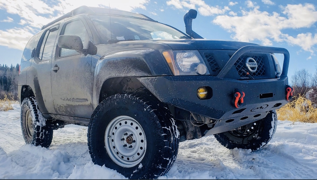 Nissan Xterra Trail Series Front Bumper By Expedition One