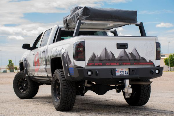 Chevy 1500 Rear Bumper for 2014-2018
