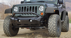 Mule Equipment Stubby Front Bumper