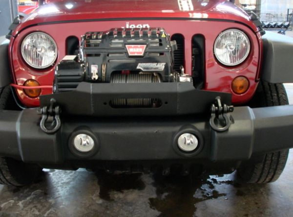 JK OEM Winch Mount
