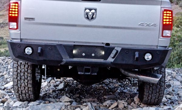 Ram 2500/3500 2010-2018 Base Rear Bumper