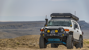 FJ Trail Series Diamond Front Bumper