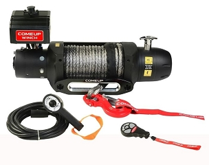 ComeUp Winch 12.5rs Seal Gen 2 winch Non-Integrated, Synthetic Line, 12V 12, 500 lbs PN 295795