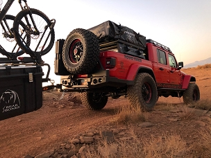 JT 2019+ Trail Series Dual Swing rear bumper Jeep JT Gladiator