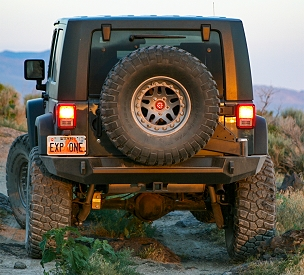 Classic Trail Series Rear Bumper