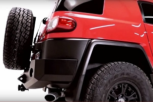 FJ Rear Bumper w/ Smooth Motion STC System Trail Series