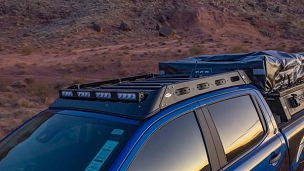 Ford Ranger 2019+ Mule Ultra Roof Rack