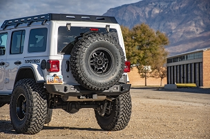 Jeep JL Core Series 2 Tire Carrier Rear Bumper System