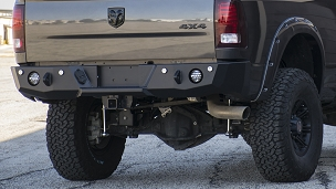 Ram 2500/3500 2010+ Base Rear Bumper