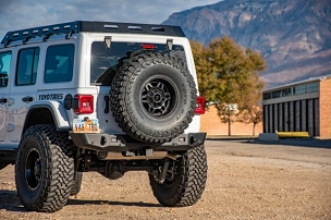 Trail Series 2 Base Rear Bumper for 2018+ JL Wrangler