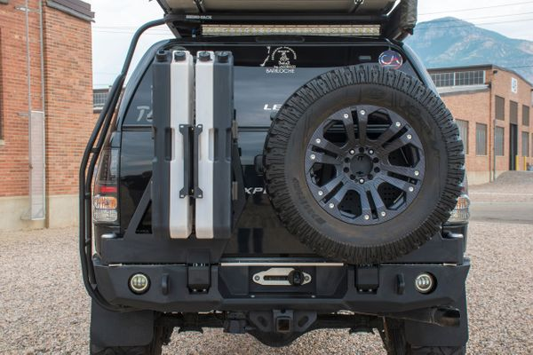 Toyota Tundra 2007-2013 Dual Swing-Out Rear Bumper